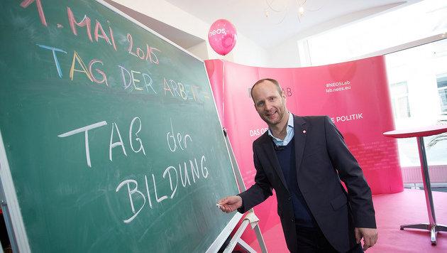 1. Mai heuer ganz im Zeichen der Landtagswahlen (Bild: NEOS Lab/APA-Fotoservice/Preiss)