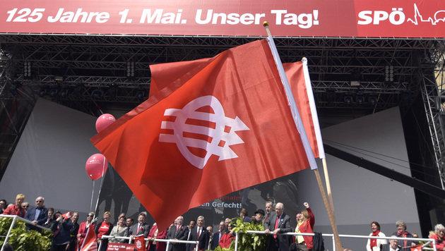 1. Mai heuer ganz im Zeichen der Landtagswahlen (Bild: APA/HANS PUNZ)