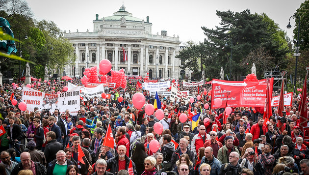 1. Mai heuer ganz im Zeichen der Landtagswahlen (Bild: SPÖ Wien)