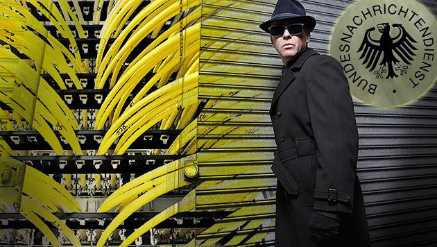 Deutscher Geheimdienst hörte unsere Polizei ab (Bild: Soeren Stache/dpa, Matthias Balk/dpa, thinkstockphotos.de)