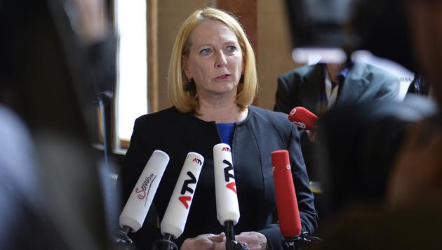 Nationalratspräsidentin und Hypo-U-Ausschuss-Vorsitzende Doris Bures (Bild: APA/HERBERT NEUBAUER)