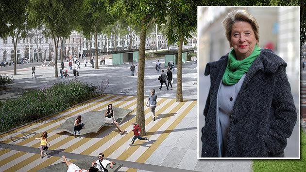 City-Chefin Ursula Stenzel fordert eine Gesamtlösung für den Bezirk. (Bild: APA/BARCELONA REGIONAL, Gerhard Bartel)