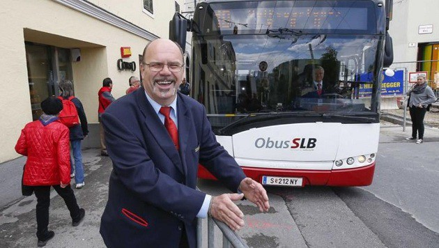 """Peter Oberascher: """"Unsere Fahrer leisten Zentimeterarbeit."""" (Bild: Markus Tschepp)"""