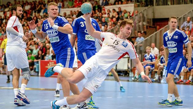 ÖHB-Männer wahren mit Sieg über Finnland EM-Chance (Bild: GEPA)