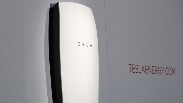 """""""Tesla-Batterie könnte Versorger herausfordern"""" (Bild: AP)"""