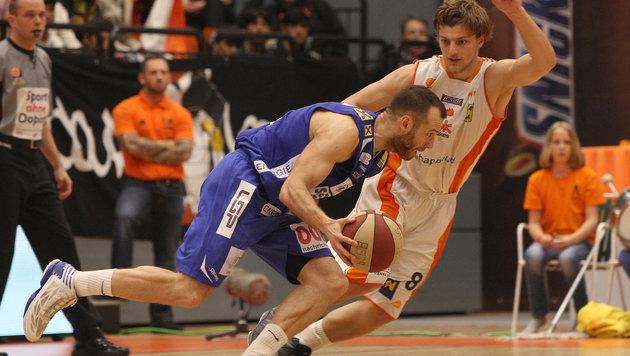 """Basketball: Zwei echte """"Krimis"""" im Viertelfinale (Bild: GEPA)"""