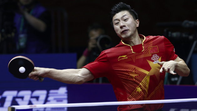Tischtennis: Ma Long holt sich den WM-Titel! (Bild: APA/EPA/ROLEX DELA PENA)