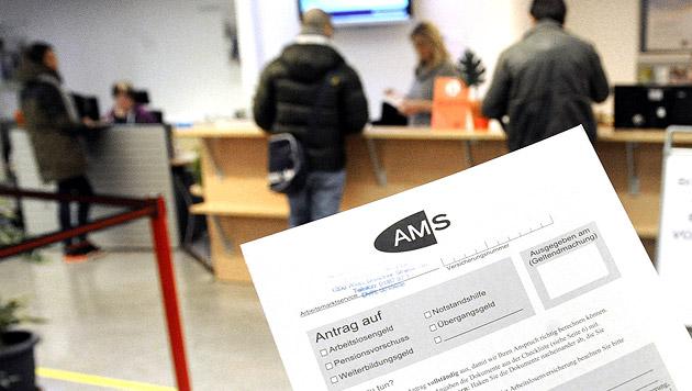 Arbeitslosigkeit stieg im März um 2,4 Prozent (Bild: APA/Herbert Pfarrhofer)