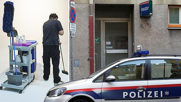 Freigänger sollen auf Polizeistationen arbeiten (Bild: thinkstockphotos.de, APA/GEORG HOCHMUTH)