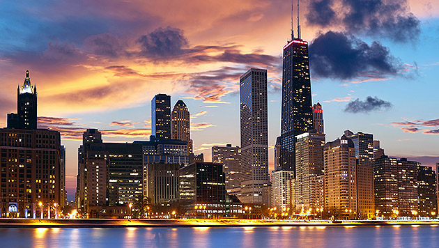 Platz 7 der Rangliste: Chicago (Bild: thinkstockphotos.de)