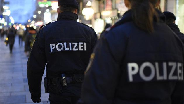 Zwei Polizisten von tobendem 21-Jährigen verletzt (Bild: APA/Helmut Fohringer (Symbolbild))