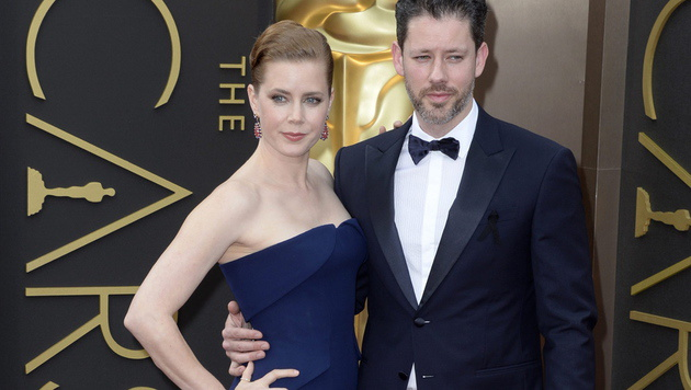 Amy Adams und Darren Le Gallo (Bild: APA/EPA/MIKE NELSON)