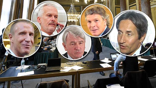 Hypo-U-Ausschuss: Zeugenliste mit viel Prominenz (Bild: APA, krone.tv)