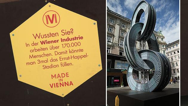 """""""Denkmäler für Industrie"""" kosten Wien 900.000 Euro (Bild: Peter Tomschi)"""