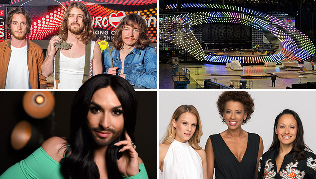 Der Countdown zum Eurovision Song Contest läuft (Bild: APA, APA/EPA, ORF/Roman Zach-Kiesling, ORF/Thomas Ramstorfer)