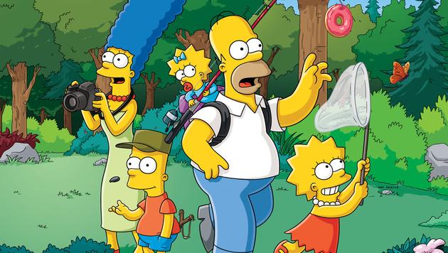 """""""Die Simpsons"""" werden um zwei Staffeln verlängert (Bild: AP)"""