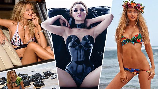 Gigi Hadid: Das Sensationsmodel (Bild: Viennareport)