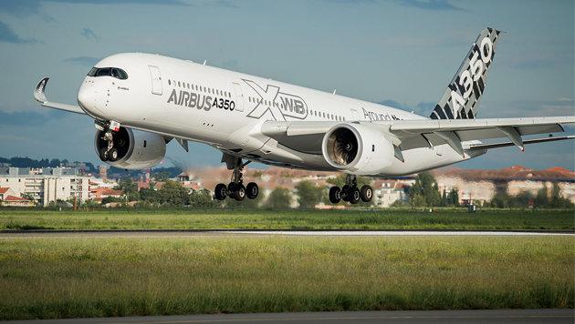 """In diesem Flugzeug stecken 1.000 """"gedruckte"""" Teile (Bild: Airbus)"""