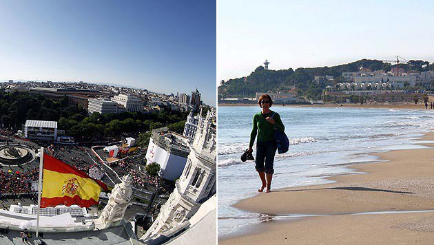 WEF-Report: Spanien ist das beste Reiseland (Bild: JAUME SELLART/JUAN CARLOS HIDALGO/EPA /picturedesk.com)
