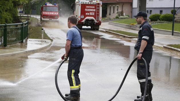 """""""Weltuntergang"""": 1.000 Feuerwehrleute im Einsatz (Bild: Zwefo)"""
