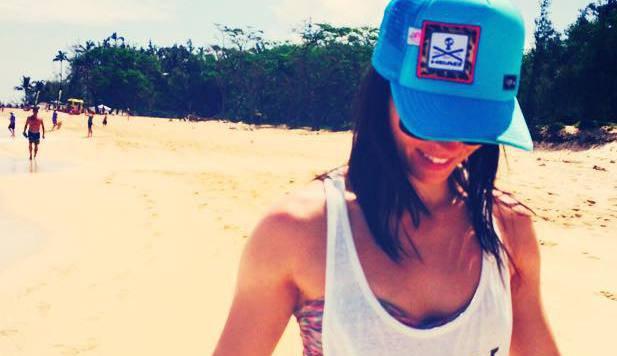 Diesen Urlaub hat sie sich verdient! Anna Fenninger auf Maui (Bild: Facebook.com)
