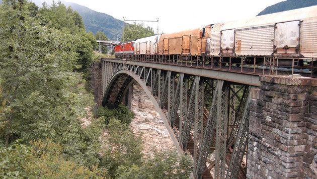 Die alte Angertal-Eisenbahnbrücke in Bad Hofgastein (Bild: Pressebild Konrad Rauscher)