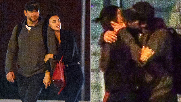 Bradley Cooper und Irina Shayk schmusend in New York (Bild: www.photopress.at)