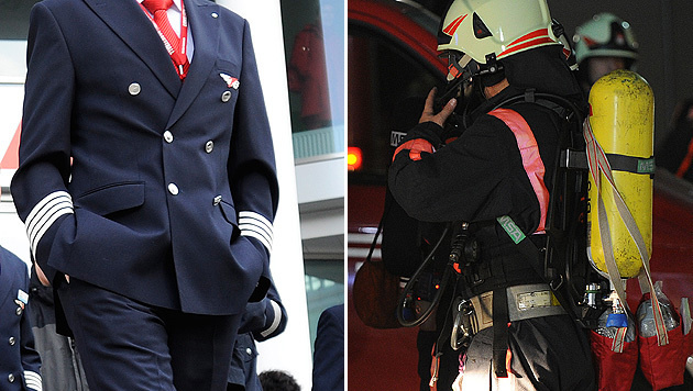 Österreicher vertrauen Piloten und Feuerwehrleuten (Bild: APA/ROBERT JAEGER, APA/BARBARA GINDL)