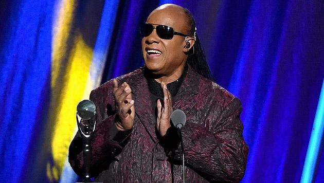 Seine Farben sind die Töne: Stevie Wonder wird 65 (Bild: AFP)