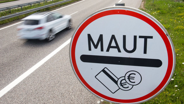 EU lässt uns mit Kritik an Merkels Maut abblitzen (Bild: APA/dpa-Zentralbild/Jens Büttner)