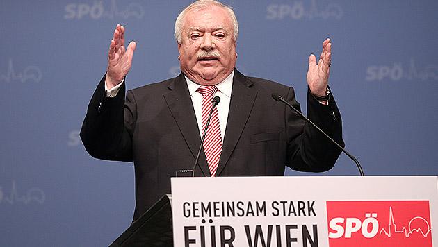 Will mehr Kapital für Investionen in Wien: Bürgermeister Michael Häupl im Wahlkampfmodus (Bild: APA/GEORG HOCHMUTH)
