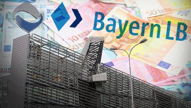 Hypo-Bad-Bank Heta muss BayernLB Milliarden zahlen (Bild: APA/EPA/GERT EGGENBERGER, thinkstockphotos.de, krone.at-Grafik)