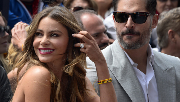 Soifa Vergara und Joe Manganiello (Bild: APA/EPA/PAUL BUCK)