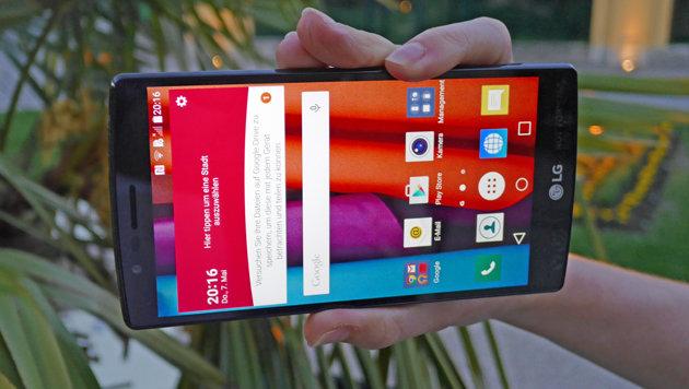 LG G4: Das erste Leder-Smartphone am Prüfstand (Bild: Dominik Erlinger)