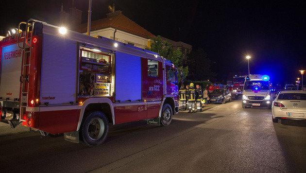 Gasalarm in NÖ: Sechs Menschen blieb Luft weg (Bild: Pressestelle Bezirksfeuerwehrkommando/Stefan Schneider)