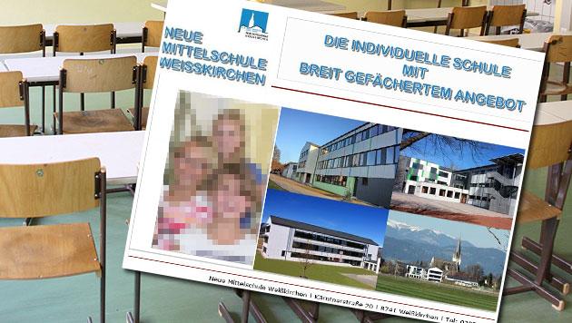 Sex-Vorwurf: Steirische Lehrerin angeklagt (Bild: CHRISTIAN JAUSCHOWETZ, Screenshot NMS Weißkirchen)