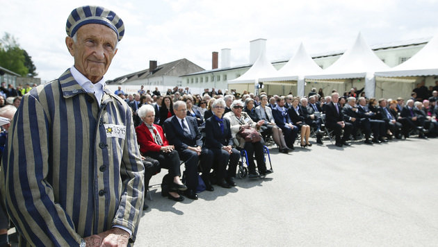 22.000 Besucher bei Mauthausen-Befreiungsfeier (Bild: APA/ANDY WENZEL)
