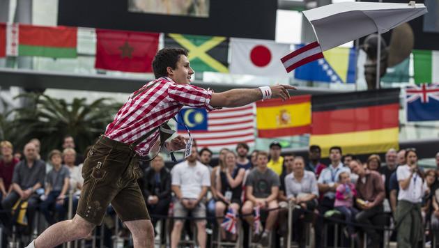 Der bestplatzierte Österreicher, Lukas Höber aus der Steiermark (Bild: APA/Red Bull Content Pool/Samo Vidic)