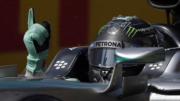 Rosberg holt ersten Saisonsieg! VW bald in der F1? (Bild: APA/EPA/ALBERTO ESTEVEZ)