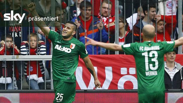 Traumferserl! Top-5-Tore der deutschen Bundesliga (Bild: AP)