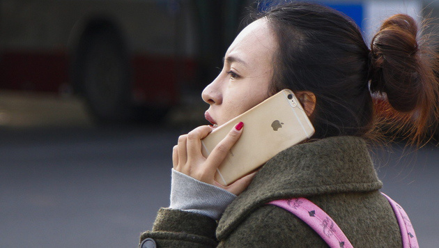 Apple führt chinesischen Smartphone-Markt an (Bild: APA/EPA/ROLEX DELA PENA)