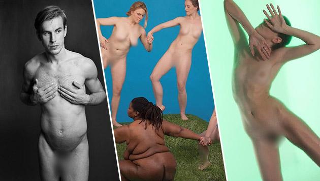 Wenn Studenten berühmte Nacktbilder nachstellen (Bild: NY School of Visual Arts)