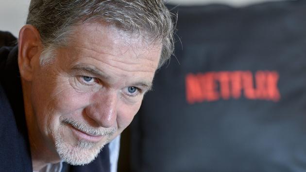 Netflix: Vom Videoverleih zum TV-Revolutionär (Bild: APA/EPA/HERBERT NEUBAUER)