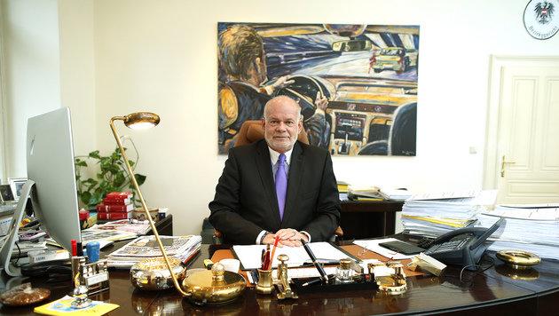 Rechtsanwalt Manfred Ainedter (Bild: Reinhard Holl)