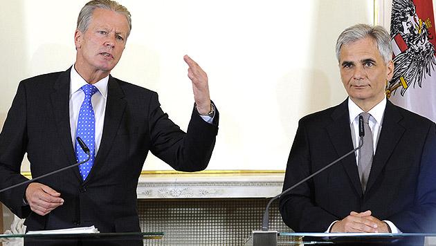 Zentrales Kontoregister: Aus für Bankgeheimnis? (Bild: APA/BKA/REGINA AIGNER)
