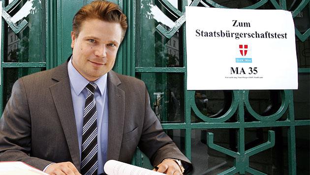 """MA-35-Leiter Werner Sedlak: """"Es hat sich viel zum Positiven verändert."""" (Bild: Martin A. Jöchl, APA/HELMUT FOHRINGER)"""