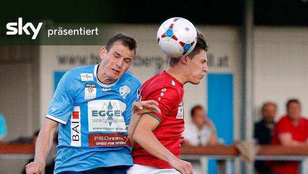Hartberg und Innsbruck trennen sich 2:2 - Video (Bild: GEPA)