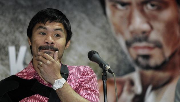 Nach Jahrhundertkampf: Fünf Klagen gegen Pacquiao (Bild: APA/EPA/FRANCIS R. MALASIG)