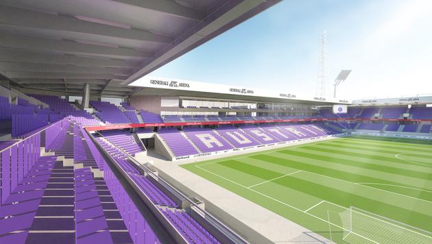 so soll das neue austria stadion aussehen umbau bis 2018 fu ball. Black Bedroom Furniture Sets. Home Design Ideas