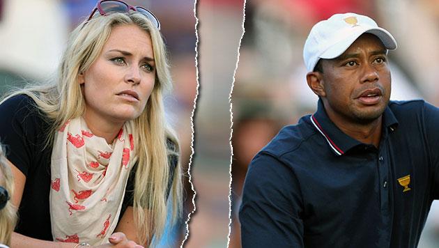 Tiger Woods: Hat er Lindsey Vonn betrogen? (Bild: GEPA)